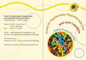 thumbnail of Flyer Logopädie